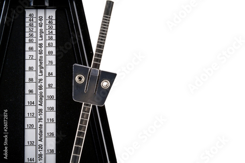 Close-Up of a Metronome Canvas Print