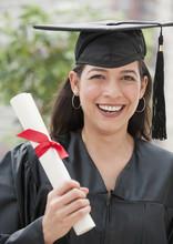 Hispanic Graduate Holding Diploma