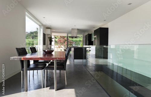 Fotografie, Obraz  interno di casa moderna