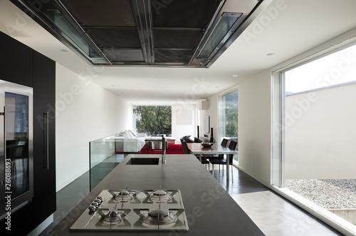 Fotografie, Obraz  interno di appartamento moderno