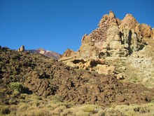Stone Formation - Teide National Park