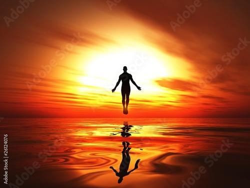 Motiv-Rollo Basic - Fire heaven - The burning awakening
