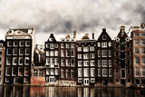 Amsterdam canal houses - 26124896