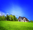 Leinwandbild Motiv Your New Home