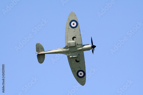 Fotografie, Obraz  RAF Spitfire
