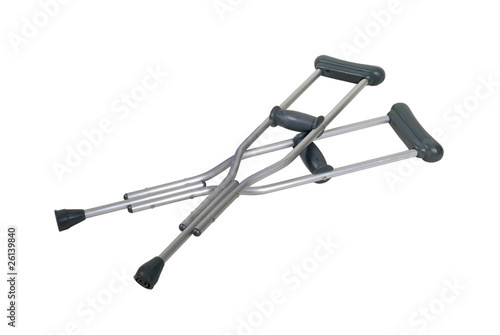 Fotografia Metal Crutches