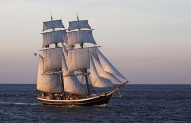 Brigg Morgenster prije Cuxhavena