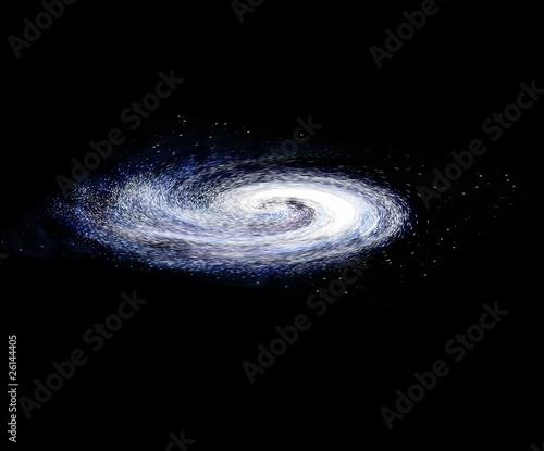 spiral galaxy #26144405
