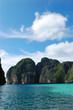 Maya Bay lagoon at Phi Phi island, Thailand