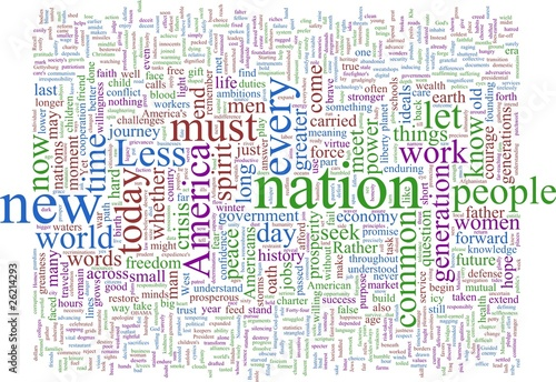 Word Cloud: Obama Tapéta, Fotótapéta
