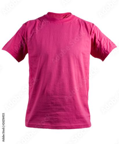 camiseta fucsia Canvas Print