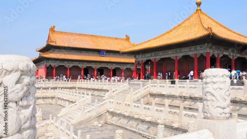 Foto op Aluminium Beijing Verbotene Stadt no.1