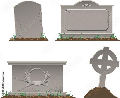 Leinwand Poster Graves
