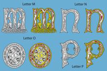 Ancient Celtic Alphabet (26 Le...