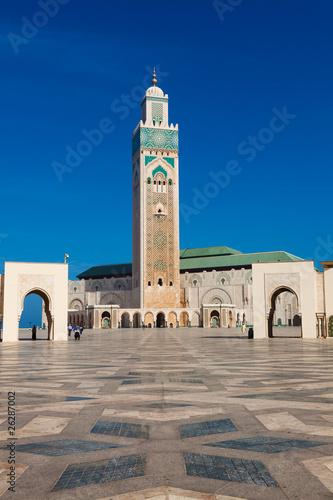 Mezquita Hassan II, Casablanca, Marruecos