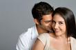 Leinwandbild Motiv Young ethnic couple in love