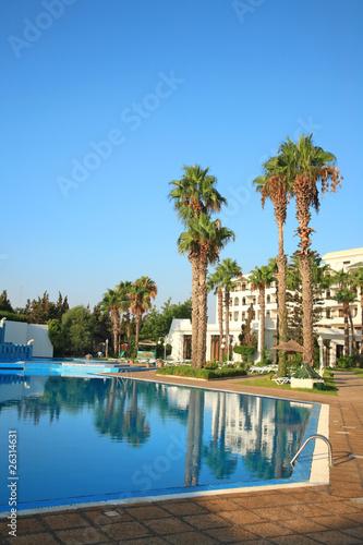 In de dag Cyprus Swimming Pool.