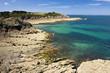 Bretonische Felsküste bei Cancale