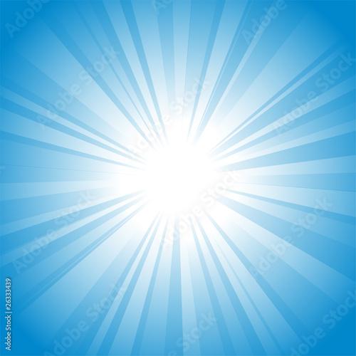 Fotografía Sun vector background