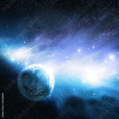 Planet & Nebula