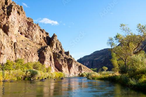 Obraz na plátně  Owyhee River Canyon