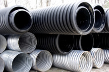Stack Of Culverts