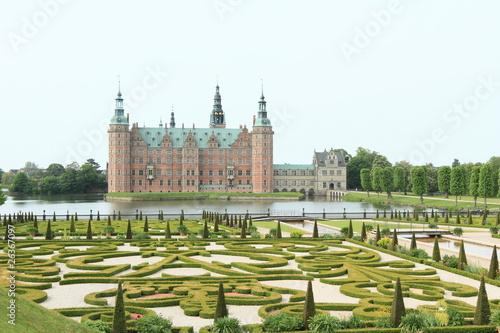 Photo  Frederiksborg Slot in Denmark