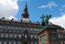Christiansborg Palace In Copenhagen, The Danish Parliament.