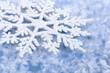 Blauer winterlicher Hintergrund