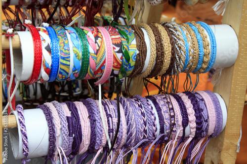 des bracelets brésiliens Canvas Print