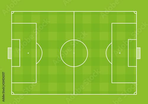 Obraz Terrain de Football - fototapety do salonu
