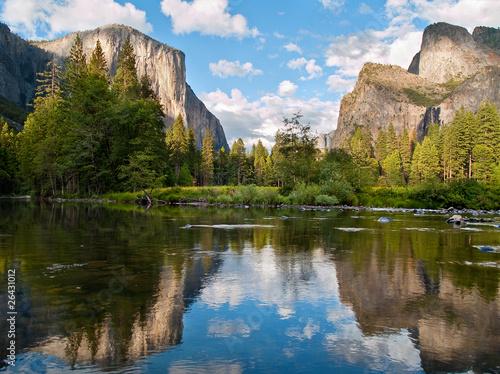 Fotobehang Natuur Park Yosemite National Park