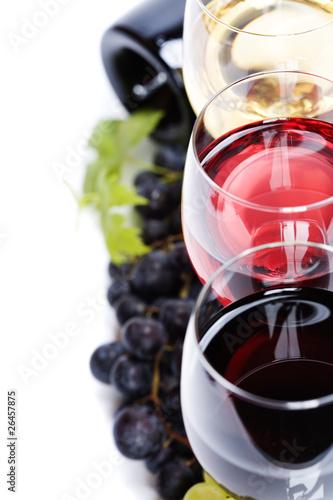Weinkompositionen – schöne Räume