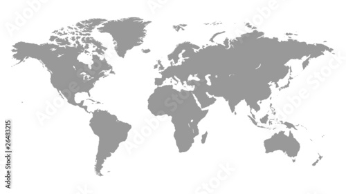 Photo Stands World Map Worldmap - Weltkarte