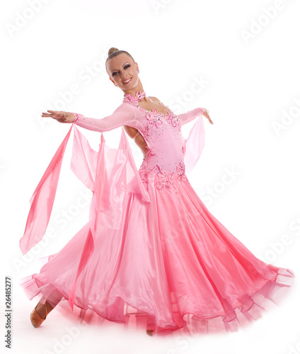 Garden Poster Fairytale World Woman with a beautiful dress