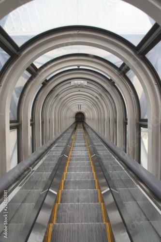 Fototapety do łazienki   ruchome-schody-ruchome