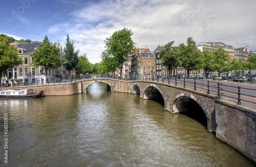Amsterdam Bridge Wallpaper Mural
