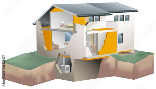 l'isolation d'une maison