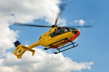 Fototapeta EC135 Rettungshubschrauber