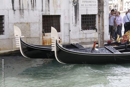 Türaufkleber Gondeln Gondeln in Venedig