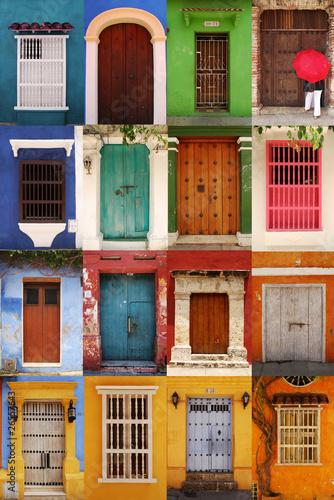 Photo Stands South America Country Portes de Carthagène, Colombie