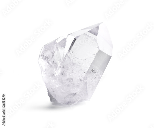 Photographie Double quartz crystal