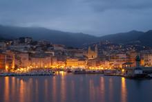Vieux Port De Bastia La Nuit