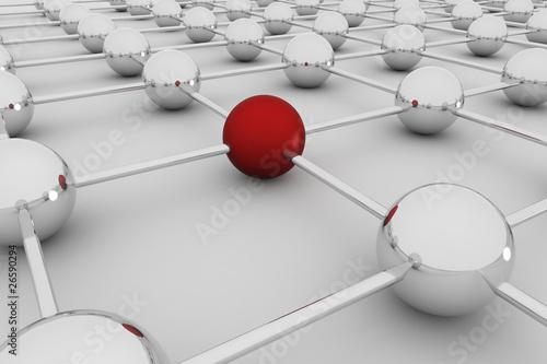 Fototapety, obrazy: Network 3D