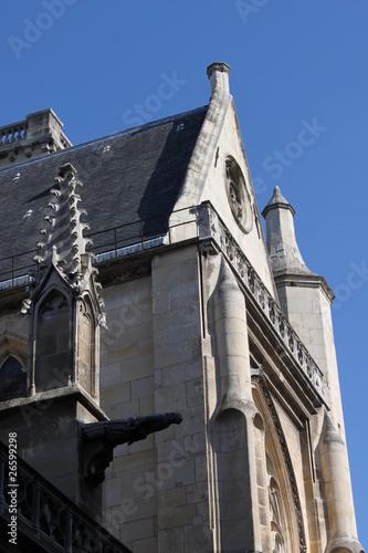 Paris01-Église-Saint-Germain-l'Auxerrois Poster