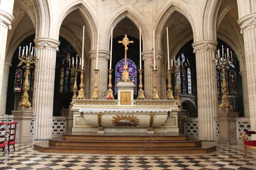 Photo  Paris01-Église-Saint-Germain-l'Auxerrois:Autel
