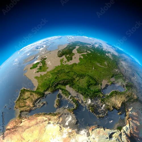 In de dag Noord Europa Metaphor for ecological disaster