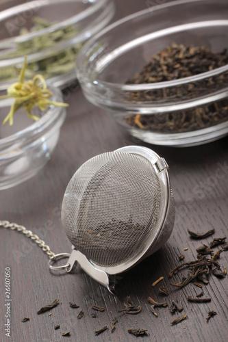 Fotografia, Obraz  Still life with tea infuser