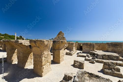 Valokuva  Ruins of Carthage