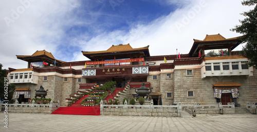 In de dag Beijing 中国西藏博物馆